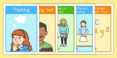 New Zealand Key Competencies Display Posters