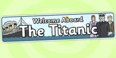 Welcome Aboard The Titanic (Day)