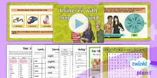 PlanIt Y3 Term 1A W1: Long /a/ Spelt as ei Spelling Pack