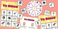 TR Spinner Bingo