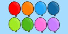 Editable Balloons