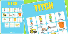 Vocabulary Poster to Support Teaching on Titch