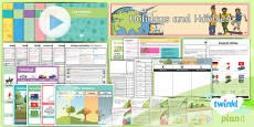 PlanIt - French Year 4 - Holidays and Hobbies Unit Pack
