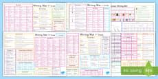K-5 Writing Word Mat Resource Pack