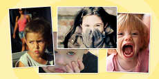 Emotions Photo Clip Art Pack