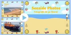 Seaside Display Photo PowerPoint Romanian Translation