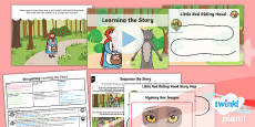 PlanIt Y1 Traditional Tales: Little Red Riding Hood Lesson Pack Storytelling (1)