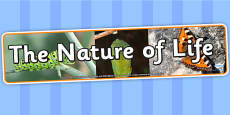 The Nature of Life IPC Photo Display Banner
