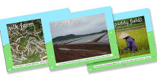 Different Types of Farm Photo PowerPoint