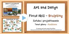 KS2 Art Sculpture PowerPoint Polish Translation