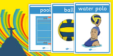 The Olympics Water Polo Display Posters