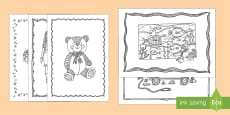 Adult Colouring Mindfulness Toys Pages