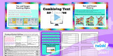 PlanIt - Computing Year 3 - Drawing and Desktop Publishing Lesson 5: Combining Text and Images Lesson Pack