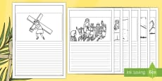 Easter Story Writing Frames