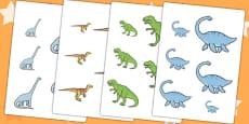 Dinosaur Size Ordering