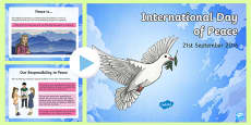 International Day of Peace: 21st  September 2016 PowerPoint