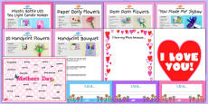EYFS Mother's Day Craft Activity and Accompanying Planning Pack