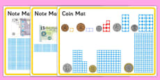 Maths Intervention Money Mats