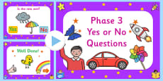End Of Phase 3 Yes No Questions PowerPoint