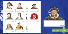 Editable Self Registration Labels (The Tudors)
