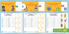 Phase 5 Phonics Screening Check Resources Support Pack