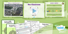 PlanIt - Geography Year 1 - Our School Lesson 2: Our Classroom Lesson Pack