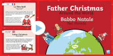 Father Christmas Around The World Italian Translation