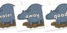Next 200 Common Words on Humpy Rumpy Hippopotamus to Support Teaching on The Enormous Crocodile
