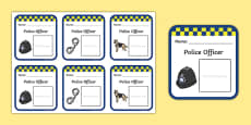 Police Role Play Badges