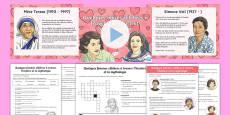 Quelques femmes célèbres - La fête des mères Resource Pack