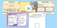 Recognise Some Different Forms of Poetry Haiku Lesson Teaching Pack