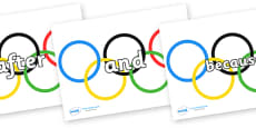 Connectives on Olympic Rings