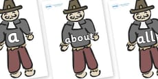 100 High Frequency Words on Guy Fawkes