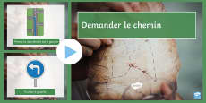 * NEW * Directions PowerPoint French