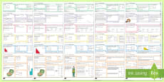 KS3/4 Half Term 1 Maths Activity Mats Resource Pack