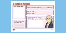 George Washington Graphic Organizer