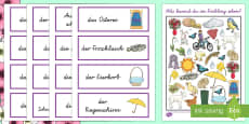 I Spy  Activity Sheet - German