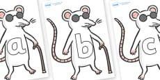 Phoneme Set on Blind Mice