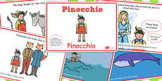 Pinocchio Story Sequencing EAL Romanian Translation Version