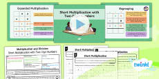 PlanIt Y4 Multiplication and Division Lesson Pack Written Methods Multiplication Short Multiplication (1)