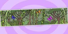 Small World Background (Jungle & Rainforest)