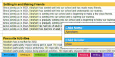 Report Writing Bank of Statements EAL