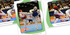 The Olympics Taekwondo Display Photos