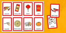 Chinese New Year Pairs Matching Game