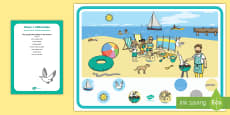 * NEW * Phase 1 Phonics Alliteration 's' Can You Find...? Poster and Prompt Card Pack