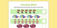 Criminal Granny Counting Sheet