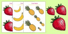 Fruit Salad Size Ordering