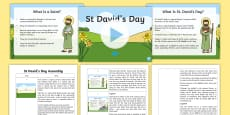 St David's Day Assembly Pack