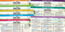 EYFS Lesson Plan and Enhancements to Support Teaching on Dear Zoo
