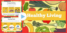 Australia - Healthy Eating and Living PowerPoint